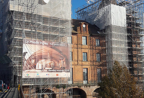 mission SPS chantier renovation toitures musee ingres Montauban 82 JMP Coordination