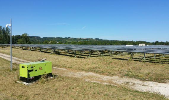 Mission SPS Lamagistere 82 Parc photovoltaique